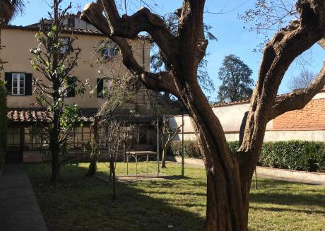 Lucca Centro Garden Inside