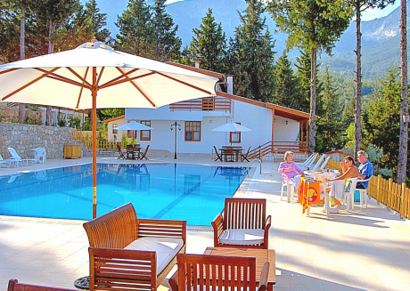Turkey mediterranean cost villa in Beycik with sea forest mountain view