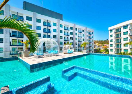 5 Star Pool View Beach Resort Close To Walking Street
