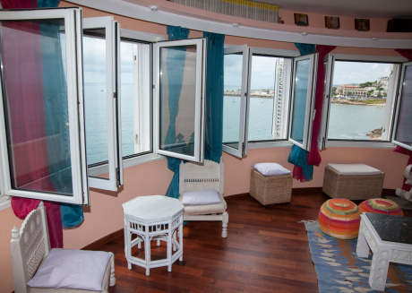 Sitges 15 meters above the sea wonderful view of the sea, good all year round