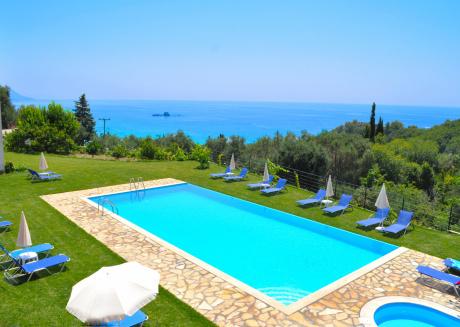 Pelekas Beach Studio Aparts with Pool