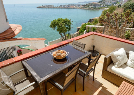 Sitges Barcelona Apartment On Cliff Sea, Pool And Relax