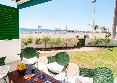 "Modern Apartment at the Beach Front ""Playa Las Burras"" 1"