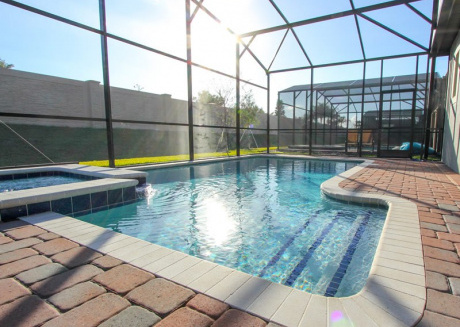 4-Bed Pool Home w/ GameRM at Champions Gate