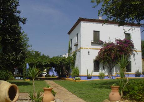 Casa Andaluza -La Cansina door-