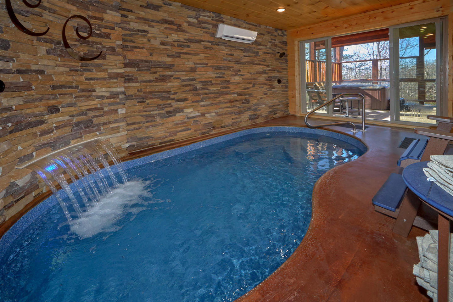 Brand New - Private Heated Indoor Pool, Theater... Slide-1