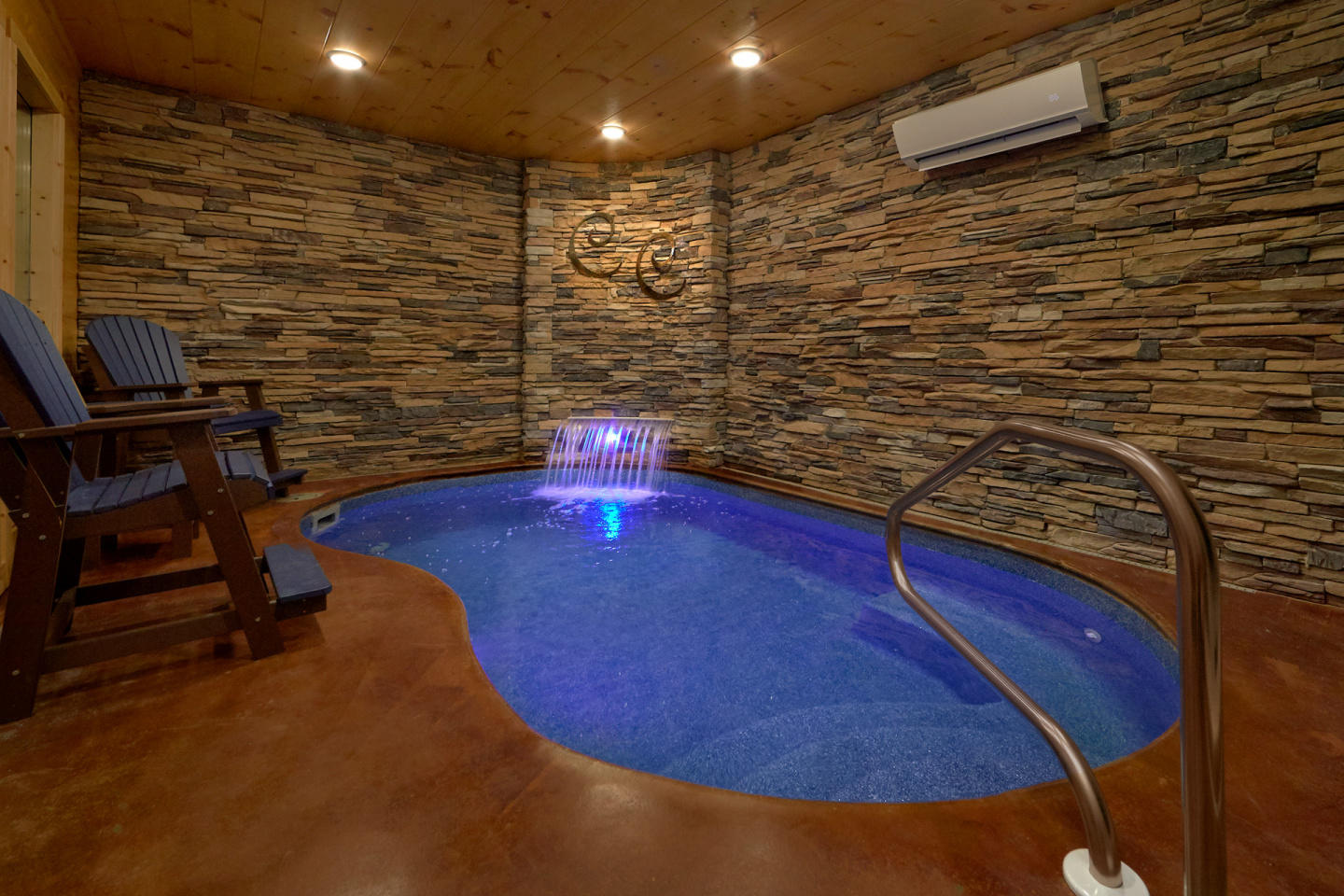 Brand New - Private Heated Indoor Pool, Theater... Slide-2