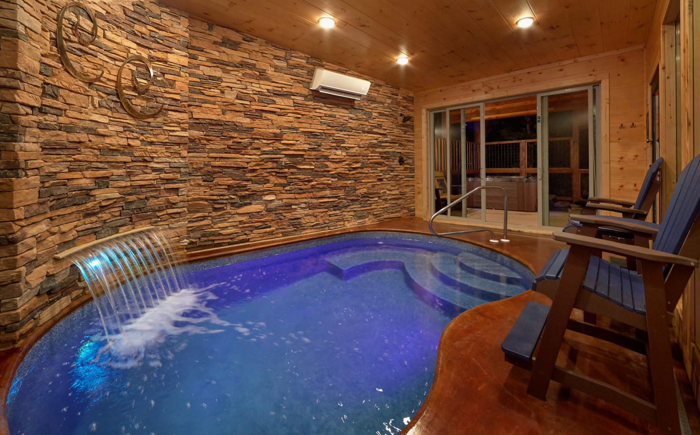 Brand New - Private Heated Indoor Pool, Theater... Slide-3