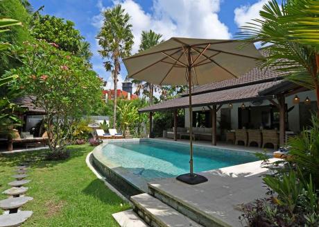 Cozy 2BR, Ensuite-Bathroom, Pool Villa in Canggu