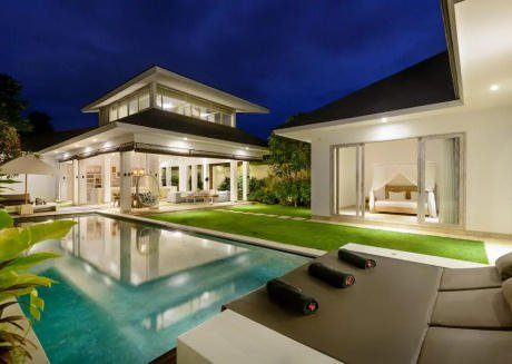 Modern Villa 5mn walk to Canggu beach, cafes