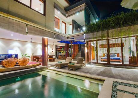 Charming 3Bedroom villa Private Pool Canggu