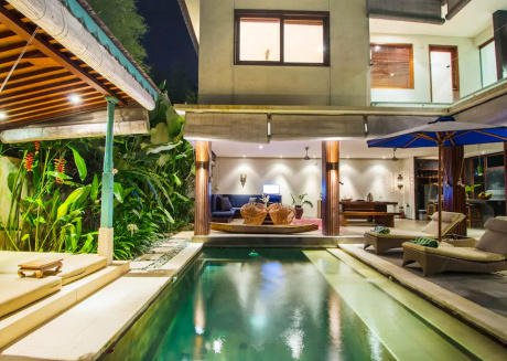 Tropical private pool 2 bedroom Villa