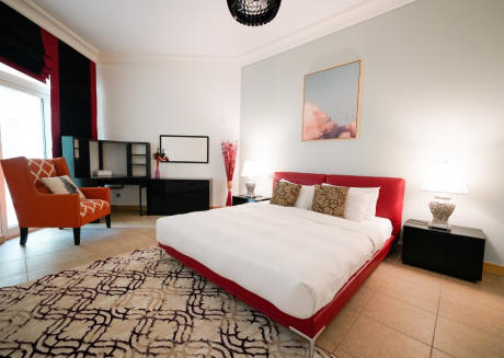 Furnished 3BR+Maids at Palm Jumeirah