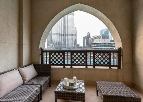 Burj Khalifa View from ALL Rooms!3mn to Dubai Mall