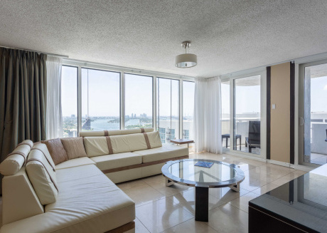 Hip and Modern Condo with Balcony and Hot Tub