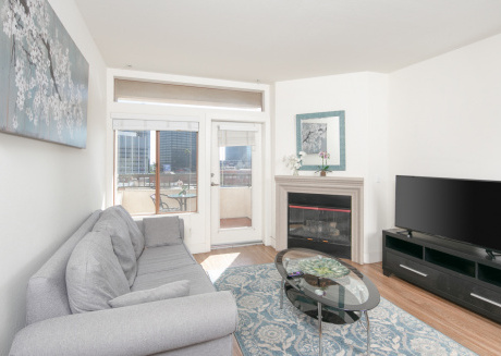 Upscale and Urban | Westwood Apartment