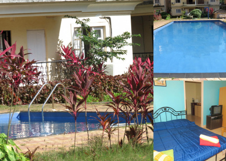 43) Serviced Studio Apartment Central Calangute & WiFi