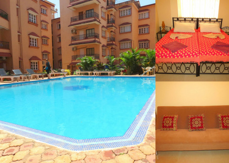 41) Serviced Apartment Calangute/Baga Sleeps 4