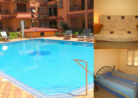 42) Serviced Apartment Calangute/Baga Sleeps 4
