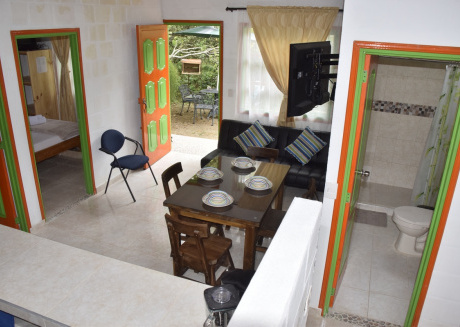 Beautiful Rural Cabin furnished for 5 people in nature near the village.