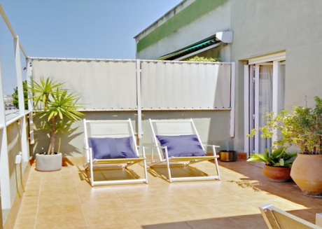 2BR+Terrace Eixample near Camp Nou - THE PENTHOUSE