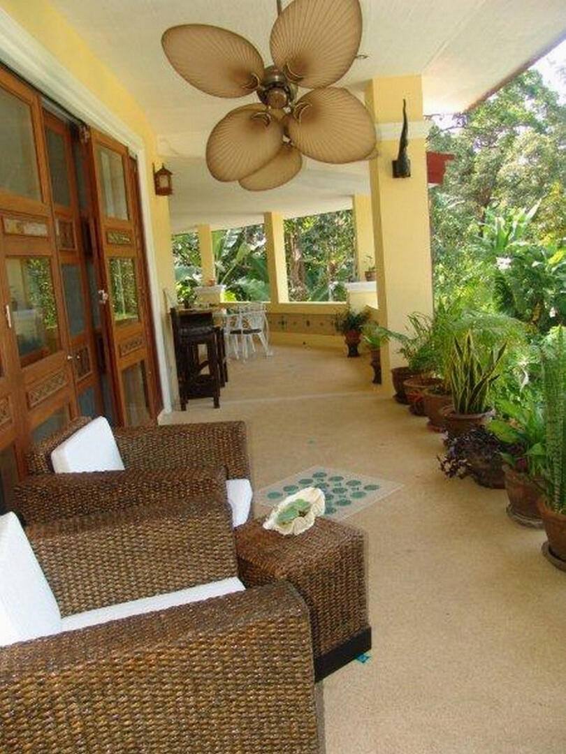 villa sawadee with swiming pool in tropical garden Slide-26