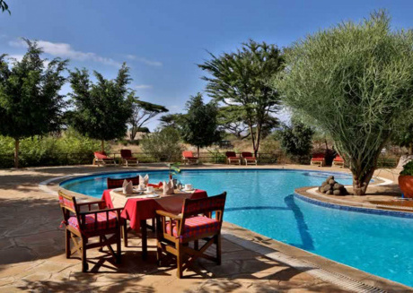 One of the best locations to stay in Amboseli National Park