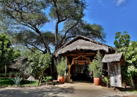 Stay in one of the tents at Kibo Safari Camp and have a relaxing experience