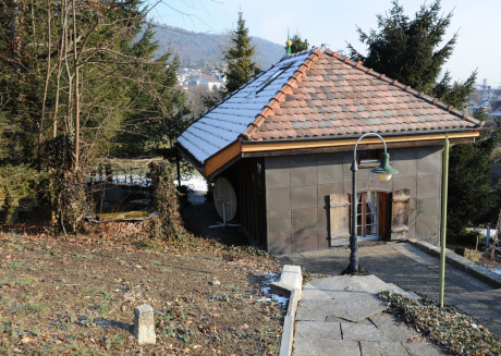 Cozy Chalet in Balgach with Large Terrace