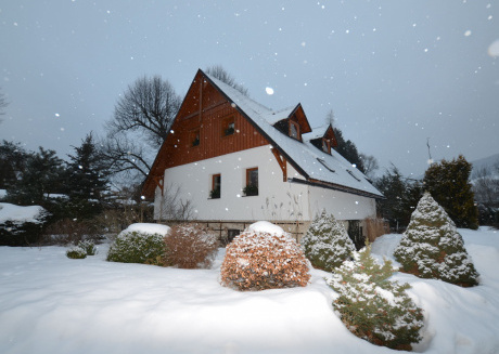 Nice, spacious holiday home with sauna in Jeseniky Mountains