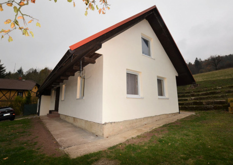 Beautiful house on the slope of Mount Kozákov in the Bohemian paradise, nice view