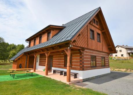 Pleasant Cottage with Sauna in Zahori Czech Republic