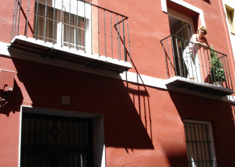 Cosy apartment situated in an old renovated premises