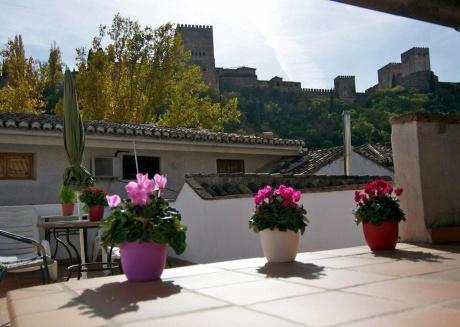 City apartment near the Alhambra (Granada).