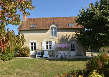 Holiday house with magnificent panoramic view, close to Chambord's castle.