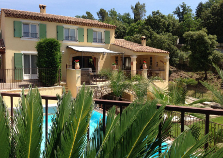 Beautifully villa with private pool and airco, in the hills of historic Vence