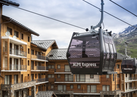 Beautiful apartment with oven at the slopes in L'Alpe d'Huez
