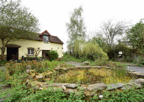 Cozy Holiday Home in Saint-Clair-sur-l'Elle with Garden