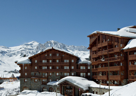 Attractive apartment directly on the ski slope of Tignes