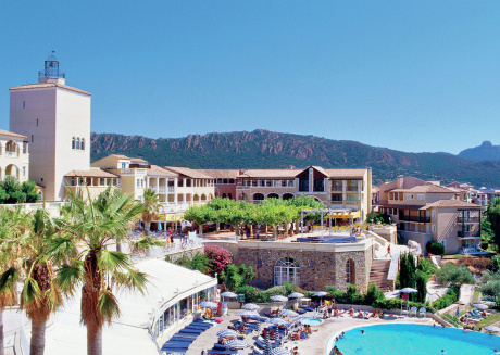 Apartment for 4-5 persons with sea view in Agay, resort paradise