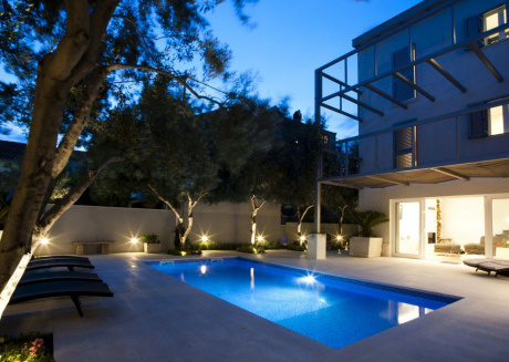 A Dramatic Apartment with Private Pool in Split