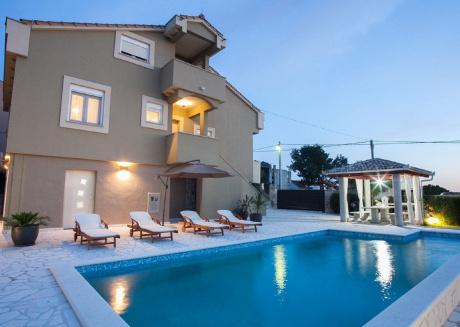Elegant villa Katarina in Zadar Dalmatia, Croatia