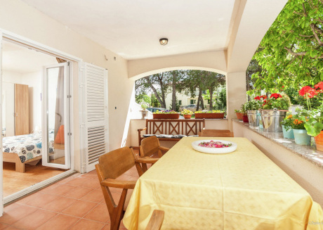 Scenic apartment Buco in Dalmatia Zadar for 4 persons