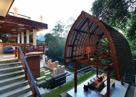 Little Ubud River View Saphire Suite