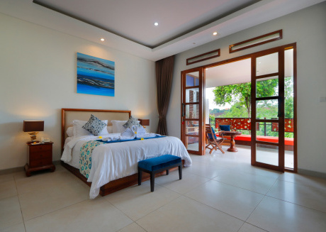 Little Ubud River View Ruby Suite