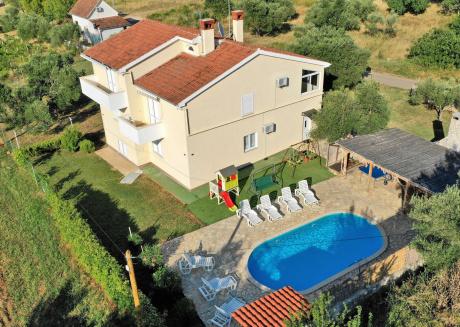 Huge Modern Sea-View Holiday Home in Pasman island, Croatia