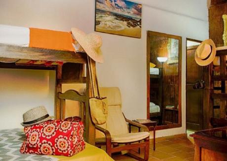 family room at las palmas houses , santa marta