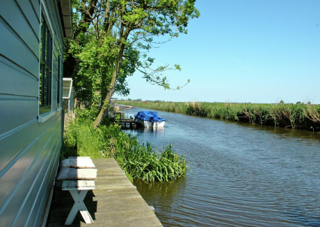 Rural guest accommodation 10 km from the centre of Amsterdam.