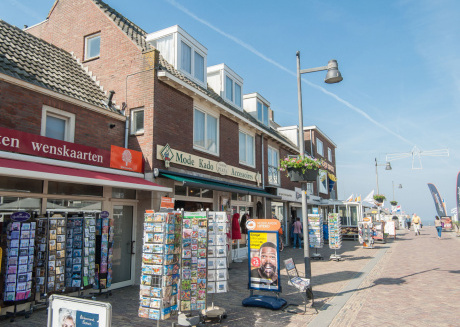 Large family apartment, only 50m from the beach entrance in Egmond aan Zee