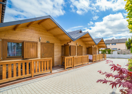 4-person holiday house located in Mielno near the sea and the lake.
